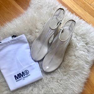 MM6 Clear PVC Heels 🔗🔗